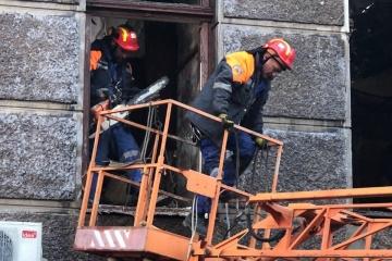 Incendie au Collège d'Odessa: quatre personnes toujours portées disparues