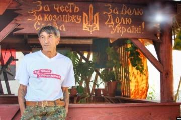 Krim: Frau und Tochter von Polithäftling Prychodko von Unbekannten geschlagen