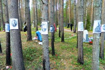 """""""Hingerichtete Wiedergeburt"""": Jahrestag des Massakers an ukrainische Kultur- und Wissenschaftselite in Sandarmoch"""