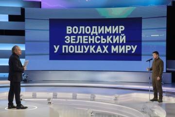 Zełenski - Nikt nie chce kapitulacji, po co zbierać się na Majdanie?