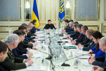 Zelensky convoque une réunion à huit clos du Conseil national de sécurité et de défense