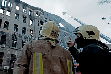 Odessa: Brand-Opfer auf 16 gestiegen