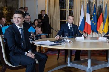 Rencontre à Paris : les dirigeants des 4 pays continuent de travailler sur un communiqué conjoint