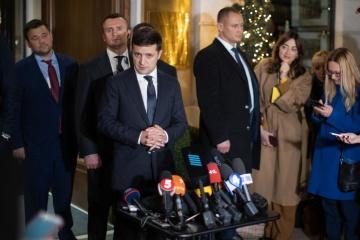 Zelensky nomme sa principale victoire au sommet à Paris