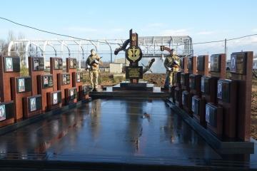 На Одещині відкрили меморіальний комплекс загиблим морпіхам