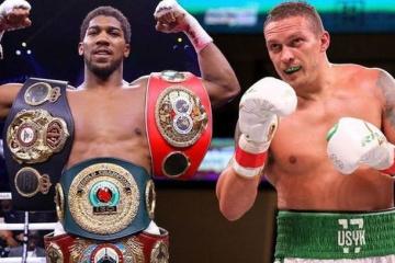 Boxen: WBO verpflichtet Joshua, Titel gegen Usyk zu verteidigen