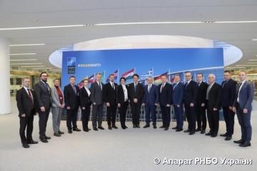 Ucrania y la OTAN actualizan la Hoja de Ruta de Cooperación