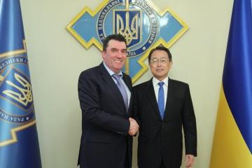 Le secrétaire du Conseil de sécurité nationale et de défense d'Ukraine s'est entretenu avec l'ambassadeur du Japon