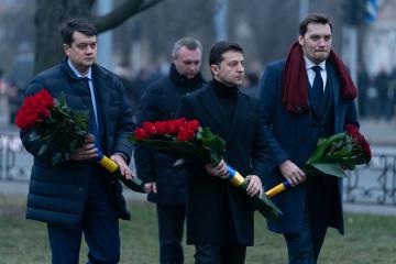 El presidente honra la memoria de los liquidadores de la catástrofe de Chornobyl