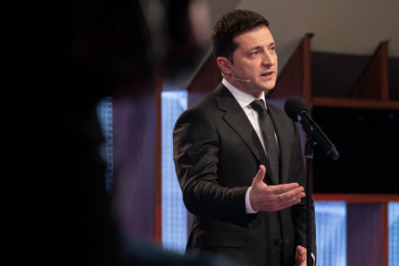Zelensky reacts to clashes near Ukraine's parliament