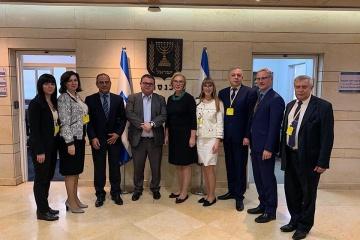 Denisova in Jerusalem discusses ratification of social security agreement