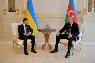 Zelensky invita al presidente de Azerbaiyán a visitar Ucrania