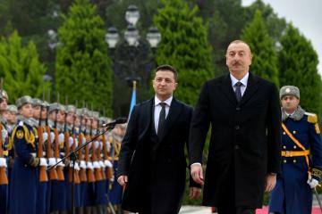 ゼレンシキー大統領、アリエフ・アゼルバイジャン大統領をウクライナへ招待