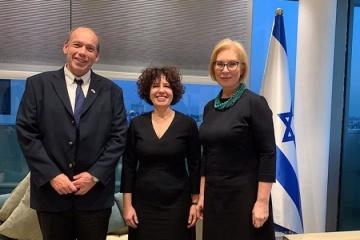 Denisova meets with Israeli ombudsman