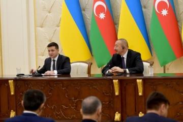 L'Ukraine et l'Azerbaïdjan ont signé un certain nombre de documents bilatéraux