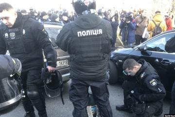 Kyiv: Heurts entre policiers et manifestants dans le quartier gouvernemental