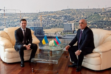 Zelensky, Asadov discuss energy and tourism cooperation