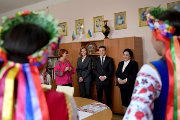 President shares secrets of success with Ukrainian students in Baku