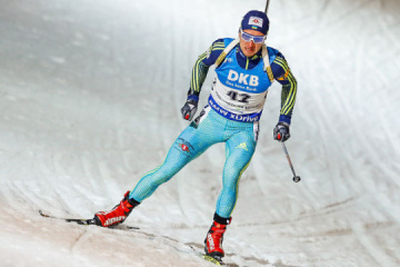 Ukrainian biathlete Semenov wins gold at IBU Cup in Austria