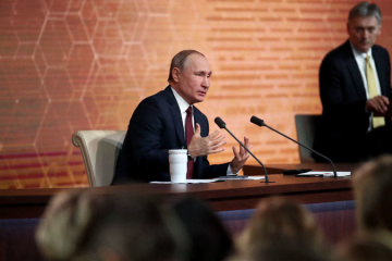 Putin says positive changes in Donbas already noticeable