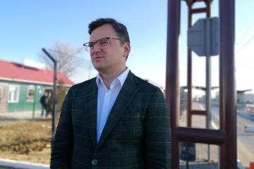 FM Kuleba: Ukraine to coordinate process of opening borders with European partners