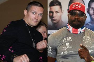 Boxen: Usyk und Chisora boxen am 7. März, dann Joshua
