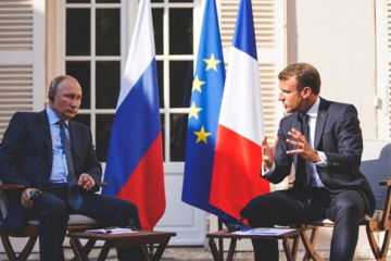 Macron: Putin está tratando de repudiar a los mercenarios de Wagner en Libia