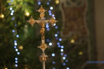 En Ukraine, les catholiques ont célébré la nuit de Noël