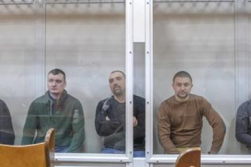 Les anciens agents de « Berkut » arriveraient au point de contrôle de Mayorske