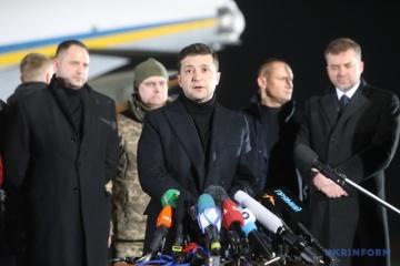 Zelensky : le transfert des anciens agents de « Berkut » n'affectera pas l'enquête sur les affaires de Maїdan