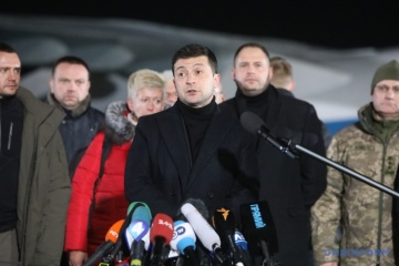 Zelensky: Transfer of former Berkut officers not to affect investigation into Maidan cases