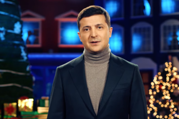 Zelensky congratulates Ukrainians on Christmas Day