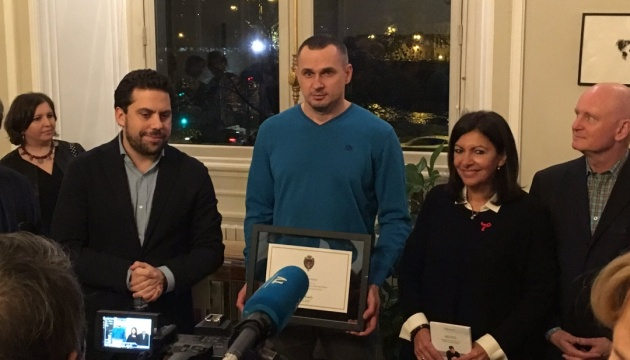 Сенцов став почесним громадянином Парижа