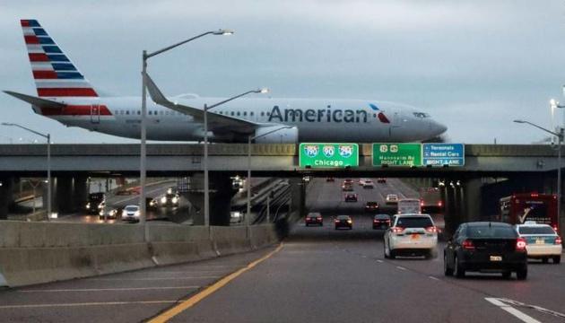 В США - массовая задержка самолетов из-за непогоды