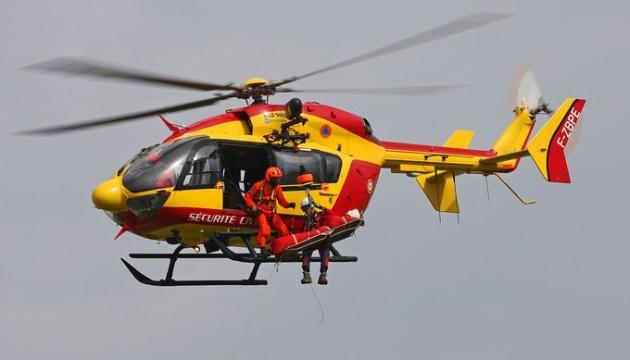 У Франції під час рятувальної операції розбився вертоліт