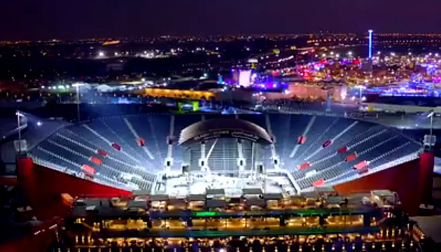 In Saudi-Arabien extra Arena für Rückkampf Joshua – Ruiz gebaut