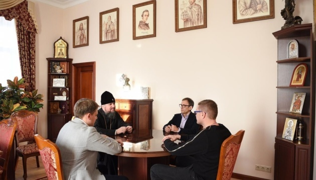 Metropolitan Epiphanius and SBU Chief Bakanov discuss interfaith relations, Donbas and Crimea