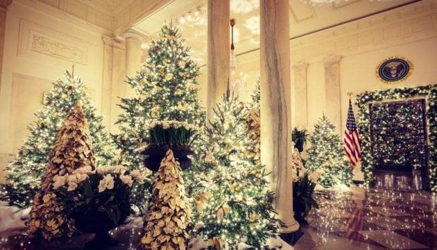 Як прикрасили Білий дім до Різдва