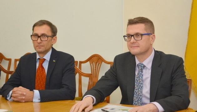 SBU chief meets with French ambassador