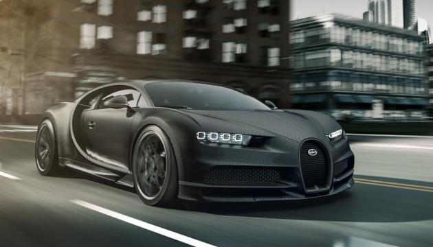 Bugatti представила спецверсію гіперкара Chiron