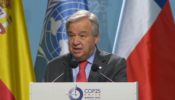 La Cumbre del Clima de la ONU arranca en Madrid