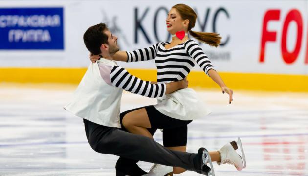 Українські фігуристи Назарова і Нікітін стали другими на турнірі в Стамбулі