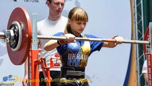 Українка встановила світовий рекорд з пауерліфтингу на чемпіонаті Європи