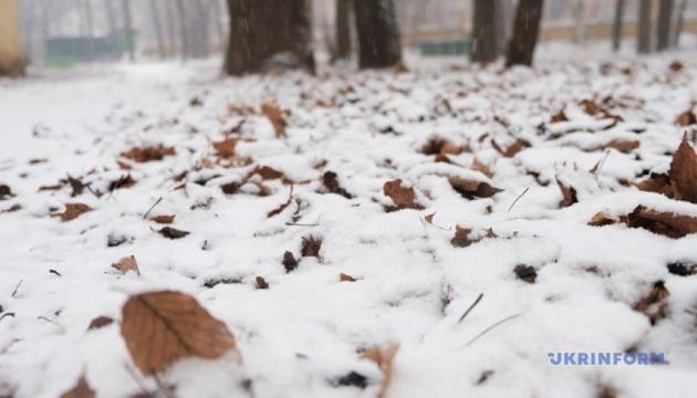 Черновцы засыпает снегом
