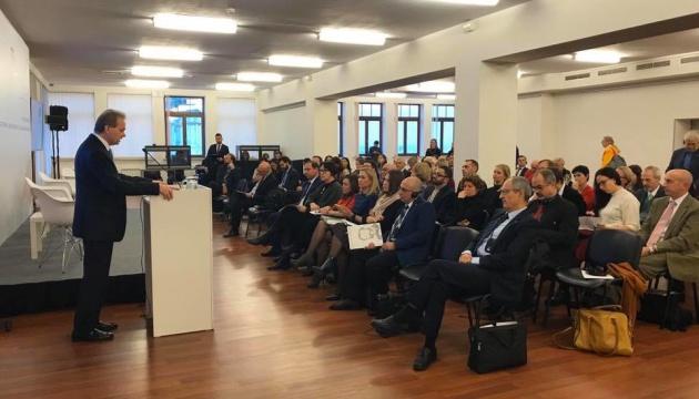 Internationale Konferenz zum 70. Jahrestag der Genfer Konventionen in Kyjiw