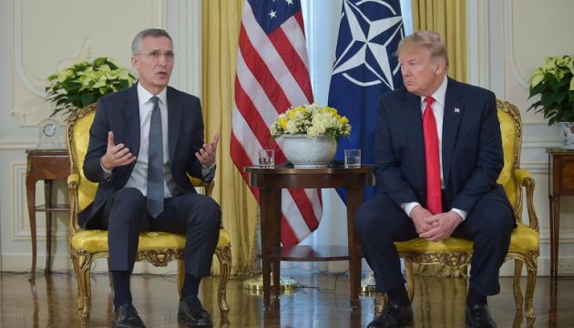 Столтенберг и Трамп встретились на саммите НАТО в Лондоне