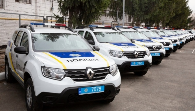 U.S. donates 88 vehicles to Ukrainian police officers