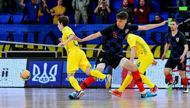 Українські футзалісти програли Хорватії у другому спарингу