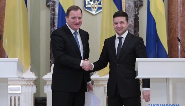 Зеленський і прем'єр Швеції провели зустріч зі ЗМІ
