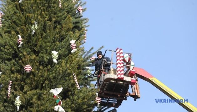 Кличко показав, як столиця готується до новорічних свят